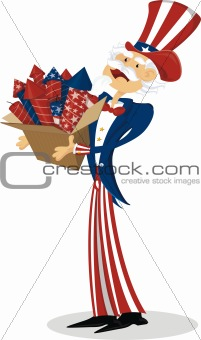 4th July uncle sam