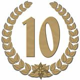 Laurel Wreath 10