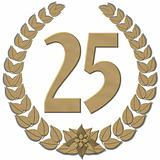 Laurel Wreath 25