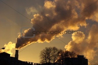 Air Pollution In Sunset