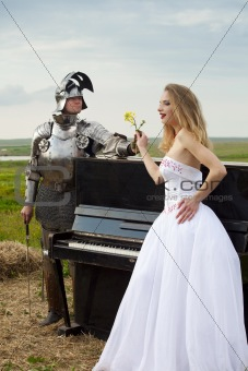 knightly romance / bride / piano