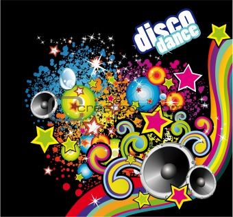 Disco Dance Colorful Flyer