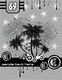 Tropical Music Disco Flyer
