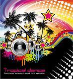 Tropical Dance Music Flyer