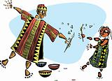 Painting with father #2