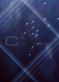 abstract background with neon lines