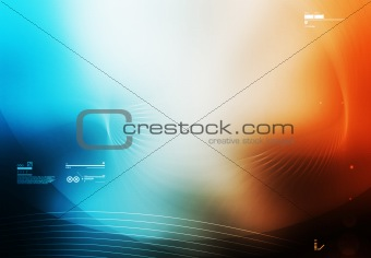 abstract background tecknology