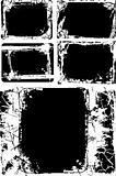 Grunge texture border