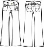 lady denim boot cut jeans