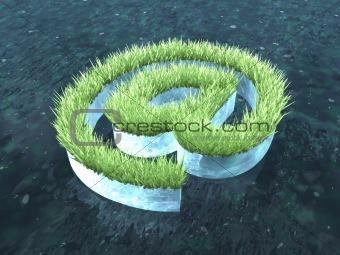 Eco-friendly arroba