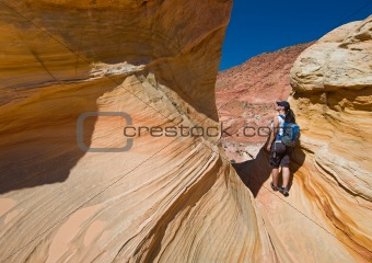 Hiking Coyote Buttes