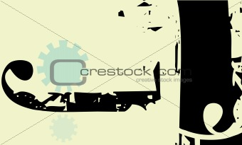 Abstract Gear Background #2