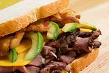 Roast Beef with Avocado