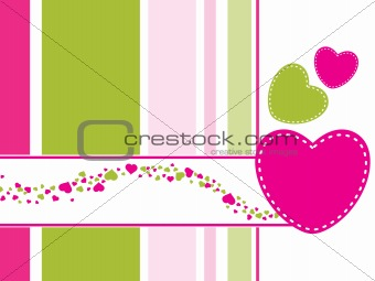 abstract------illustration love card