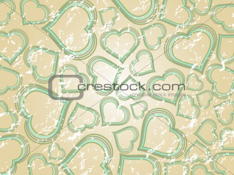 abstract---attractive valentine card