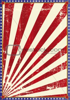 American grunge background