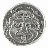Medusa on Ancient Greek Half Drachm 300 BC