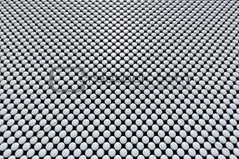 Grey pills array