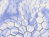 Platinum hexagons