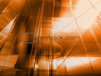 Architectural orange