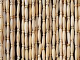 Wooden beeds pattern