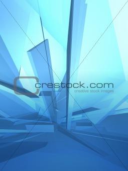 Blue ice deconstruction