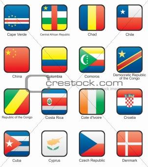 Flag icon set (part 3)