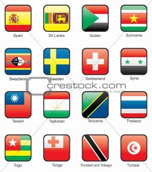 Flag icon set (part 11)