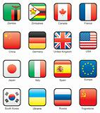 Flag icon set (part 13)