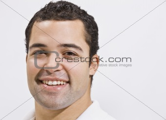 Attractive male head shot