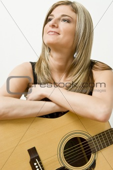 Women and guitar