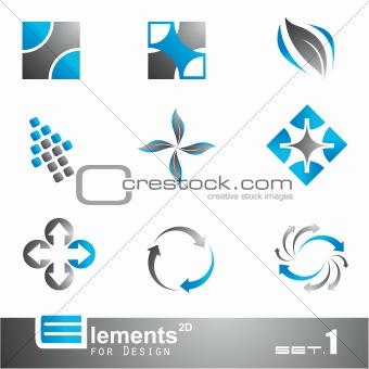 Abstract 2D Elements - Set 1