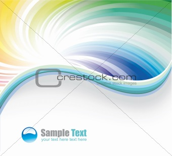 Business Rainbow Background