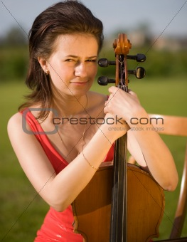 portrait violinist