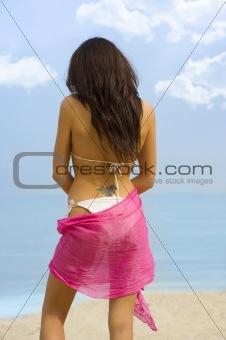 back side girl