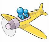 Design Mascot Airplane