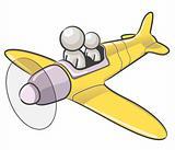 Design Mascot Airplane