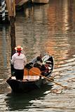 Venice gondolier.