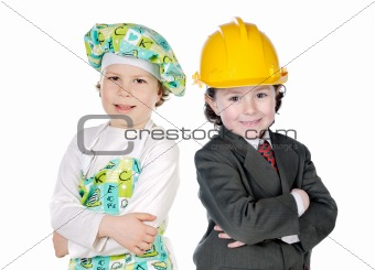 Little doctor and architect