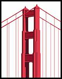 Golden Gate Bridge Detail
