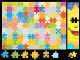Sunshine Puzzle Pieces