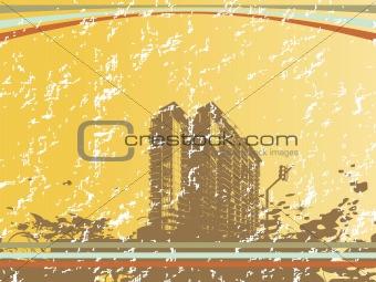 cityscape silhouette for your design