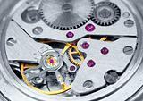 Ancient metal clockwork close-up