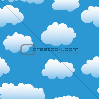 Abstract clouds background.