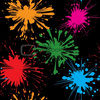 Abstract splash background. Seamless.