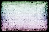 Music Themed Abstract Grunge Background