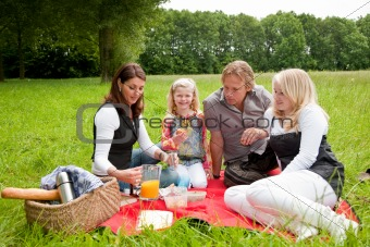 Family picnic
