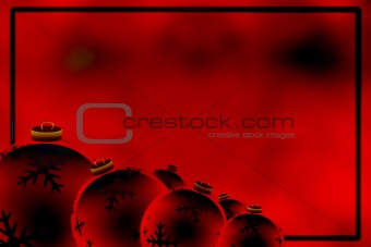 Abstract christmas illustration