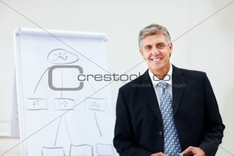 Portrait of a mature confident business man