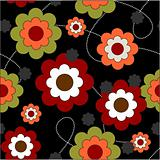repeat floral background